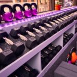 dumbbells at reps fitness studio
